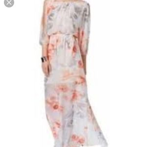 Brand new with tags Vince Camuto Floral maxi dress